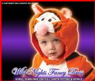 FANCY DRESS COSTUME ~ DISNEY TIGGER CLASSIC INF AGE 1-2